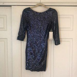 Tobi Sequin Dress